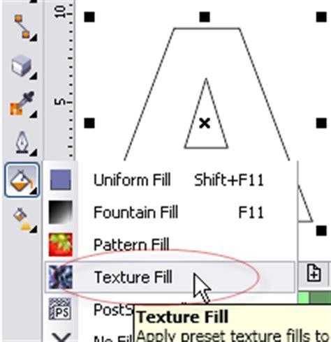 pattern fill adalah cara memasukkan gambar pada huruf di coreldraw aplikasi