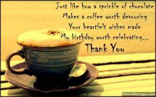 Birthday Thank You Quotes Thank You Messages For Birthday Wishes Quotes And Notes