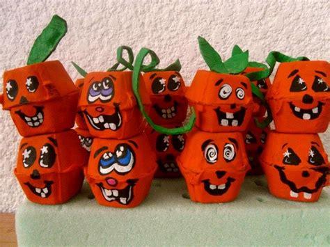 imagenes de halloween reciclables halloween calabazas de carton de huevo egg carton