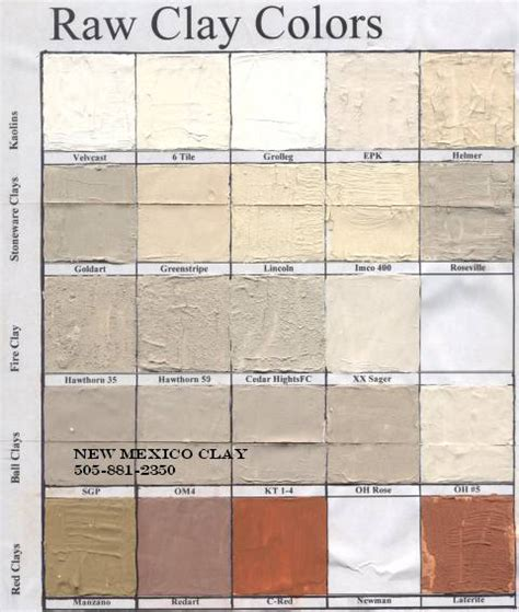 what color is clay earthen plasters