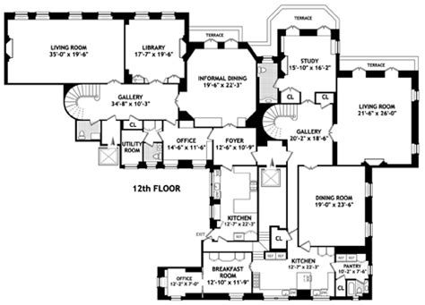 740 Park Avenue Floor Plans by Howard Marks Spends Big At 740 Park Avenue Variety