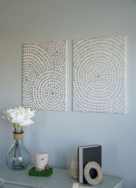 Diy Wall Decor by Diy Canvas Wall A Low Cost Way To Add To Your Home