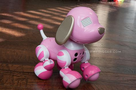 zoomer puppy reviews gift guide zoomer zuppies interactive puppy review digger