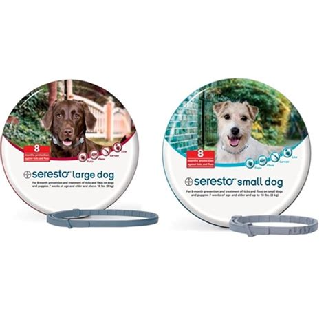 best tick collar for dogs buy seresto flea and tick collar for small and large dogs