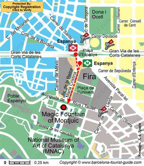 el magic resort map hotels near magic of montju 239 c in barcelona