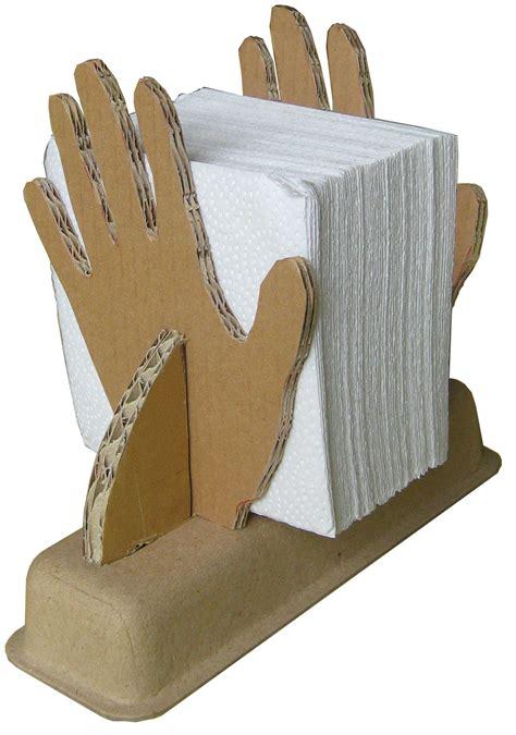 napkin holder cardboard design workshop napkin holder