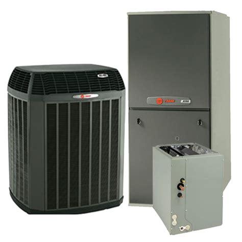 Trane XL20i 3.0 Ton Dual Fuel 2 Stage Communicating Heat Pump with XC95 Communicating Modulating