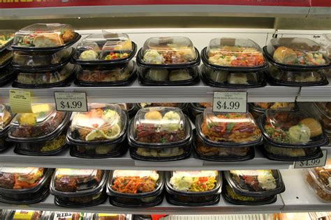 cooking light ready made meals grocery stores waste tons of food as they woo shoppers kcur