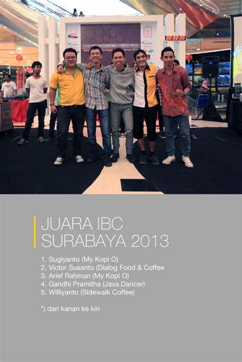 Menu Coffee Toffee Malang ibc surabaya 2013 cikopi
