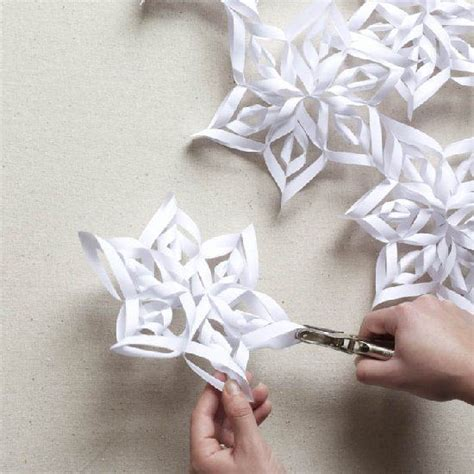 3d Snowflakes Paper Craft - diy paper snowflake projects 2d 3d to beautify