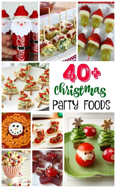 16 cute christmas party food ideas 40 easy food ideas and recipes all about
