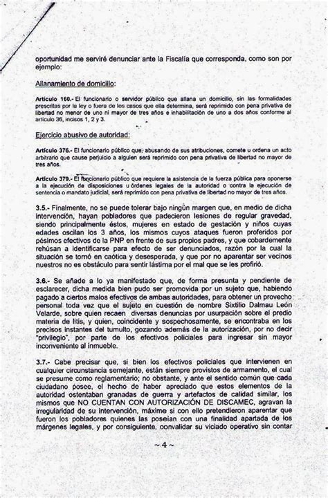 corpus hermeticum y otros 8441403511 enformia juez admit 233 habeas corpus contra el alcalde oficial pnp y otros que participaron en