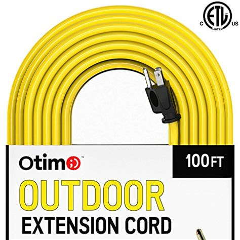 100 ft 14 outdoor extension cord otimo 100 ft 14 3 outdoor heavy duty extension cord 3