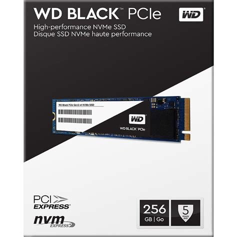 Pcie Ssd For Gaming Motherboard Wd Black Pcie 256gb wd black 256gb performance ssd 8 gb s m 2 2280 pcie nvme solid state drive wds256g1x0c