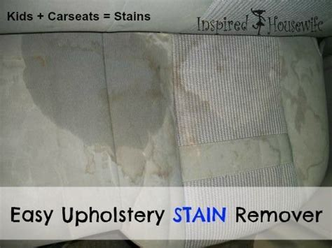 How To Remove Upholstery by Easy Car Upholstery Diy Stain Remover