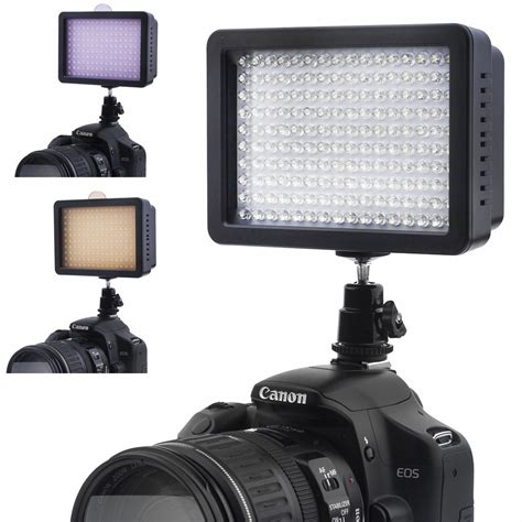 bestlight 160 led studio light for canon nikon dslr dv camcorder ebay