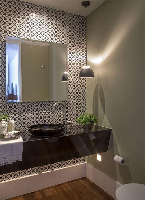 lavabo preto lavabo parede de azulejo preto e branco lavatory