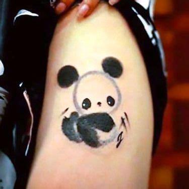 my daughters panda tattoo panda stuff pinterest 42 best tattoo panda images on pinterest panda bears