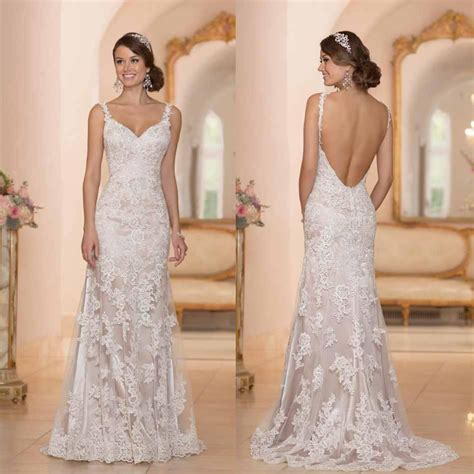 wholesale a line wedding dresses buy 2015 backless