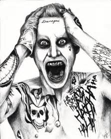 not the best scan but this is my drawing of jared leto