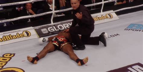Raymond Daniel S raymond with the ko of the century at 16