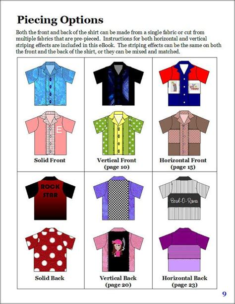 Kemeja Dewasa Pattern Shirt sew bowling shirts for and using this