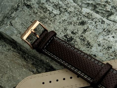 Tali Jam Nato Leather 22mm dayan s day sold alba original leather 22mm brown