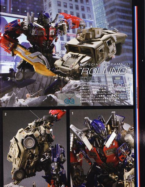 Mecha Transformer Optimus Ironhide Bumblebee Shockwave dual model kit optimus prime and bumblebee hobby magazine