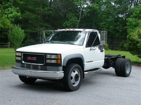 gmc 3500hd 1997 medium trucks buy used 1997 gmc 1 ton truck sierra 3500hd truck cab chassis ready to install your bed in