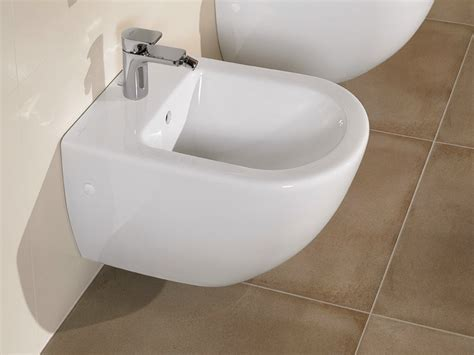 bidet subway subway wall hung bidet by villeroy boch