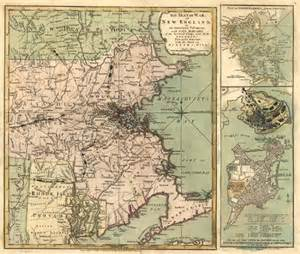 map of the colony of massachusetts colony