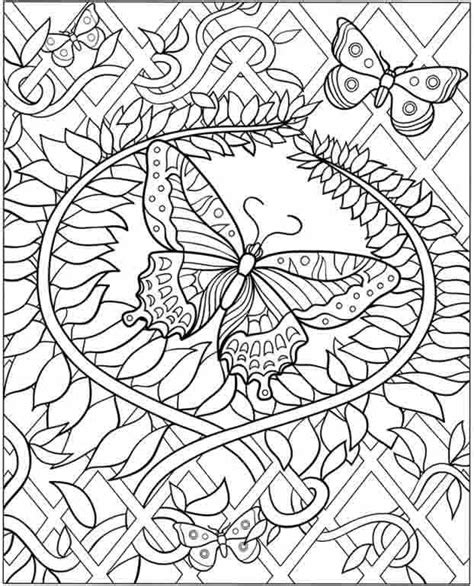 coloring pages for adults hard difficult coloring pages for adults inkspired musings