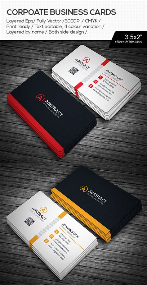 name card design template ai 15 premium business card templates in photoshop