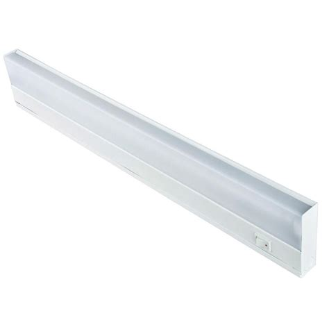 Lithonia Lighting Standard 18 In T8 Fluorescent Under Fluorescent Light Cabinet