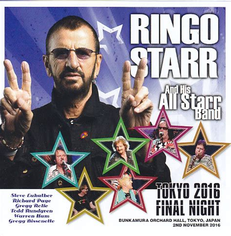 ringo starr japan ringo starr his all starr band tokyo 2016 final night