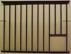 horse stall grill sections horse stall kits for support post horse stall