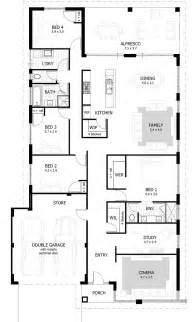 House Floor Plans Top 25 Best 4 Bedroom House Ideas On 4