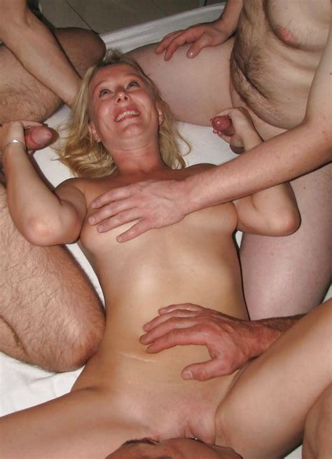 Dutch Blonde Amateur Milf Gangbang With Many Facials Pics XHamster