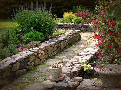 Landscape Design Landscaping Flower Beds With Rocks Garden Bed Rocks