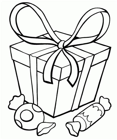 present coloring page presents coloring pages best coloring pages for