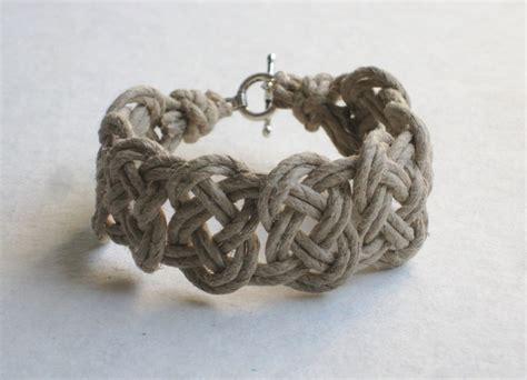 Celtic Knot Hemp Bracelet - 17 best ideas about celtic bracelet on celtic