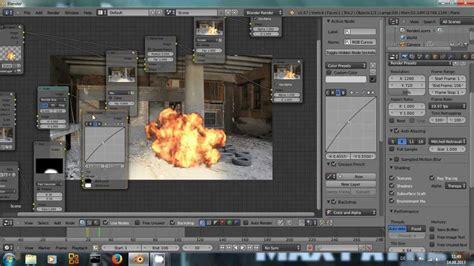 blender 3d explosion tutorial composite an explosion blender tutorial youtube
