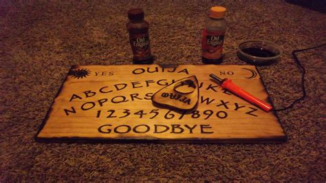 How To Make A Wigi Board Out Of Paper - ouija board pt 2