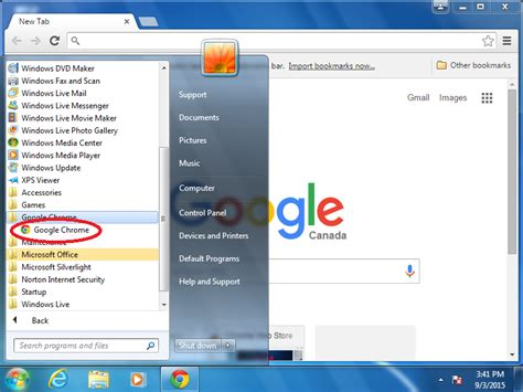 Image Gallery install chrome for windows 7