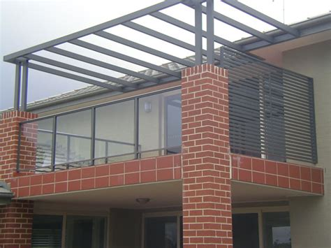 Glass Handrails For Stairs Aluminium Balustrades And Privacy Screens Probalustrading