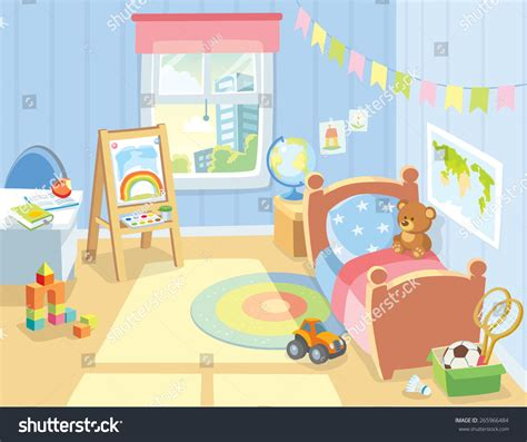 artwork for kids bedrooms cozy children s bedroom interior with furniture and toys