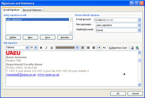 add or change your email signature on your blackberry image gallery outlook signature