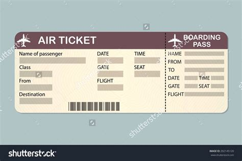 ticket layout template blank ticket template exle mughals