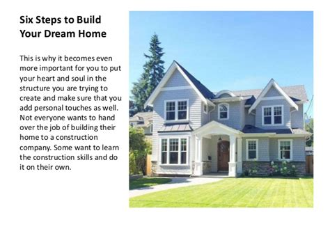 build your dream home 100 how to build your dream tips to hire a