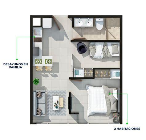 apartamento 2 habitaciones ifreses - Apartamentos 2 Habitaciones